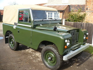 1971 LAND ROVER SERIES 2aPETROL full rebuild 88in