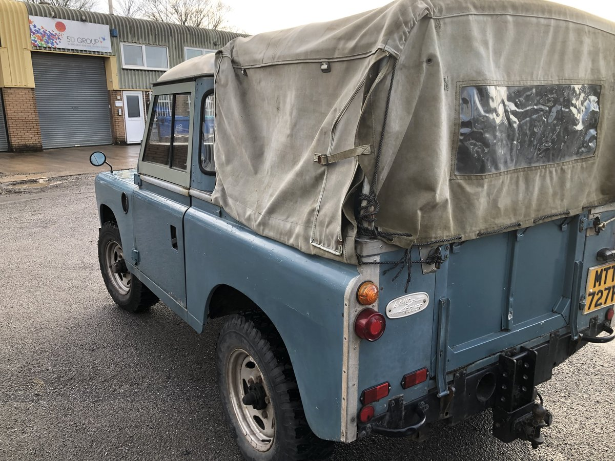 LAND ROVER SERIES 3, 2-1/4 PETROL 1976 For Sale (picture 4 of 6)