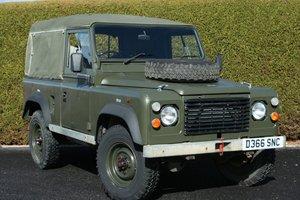 1987 Land Rover Defender 90 2.5D Ex MOD Soft Top For Sale