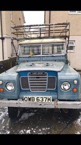 Series 3 109, 2.25 diesel, year 1972 all original,