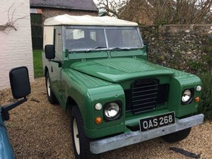 Landrover 2A 1966 New Chassis/Engine/Paint/Seats