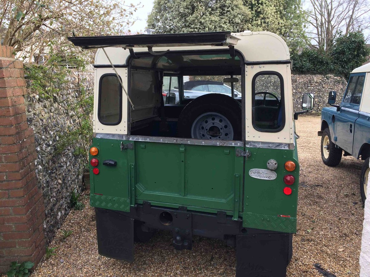 Landrover 2A 1966 New Chassis/Engine/Paint/Seats  SOLD (picture 2 of 6)