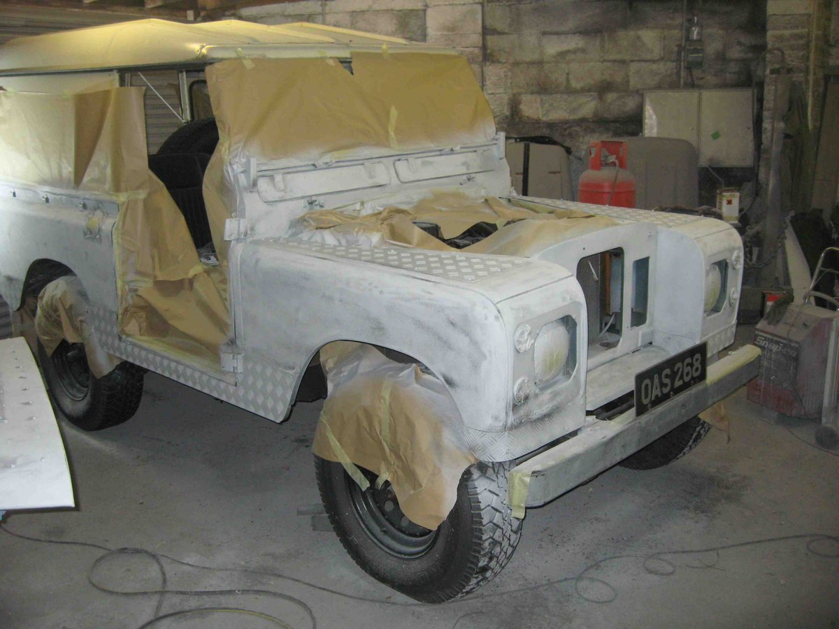 Landrover 2A 1966 New Chassis/Engine/Paint/Seats  For Sale (picture 3 of 6)