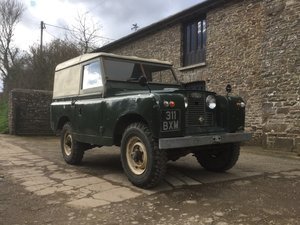 A Very Original Series 2 Land Rover - 1961 - FWH. For Sale