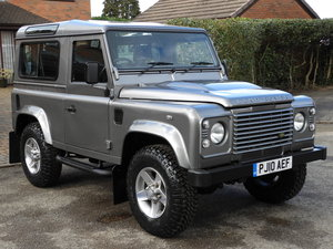 2010 LAND ROVER DEFENDER 90 2.4TDCI COUNTY S/W !! For Sale