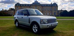 2002 LHD Range Rover 3.0 TD6 4X4 Auto Vogue,LEFT HAND DRIVE