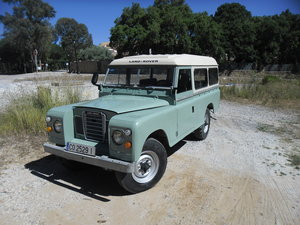 1979 Land Rover Defender /Santana 109 2 Door Long Wheel Base For Sale