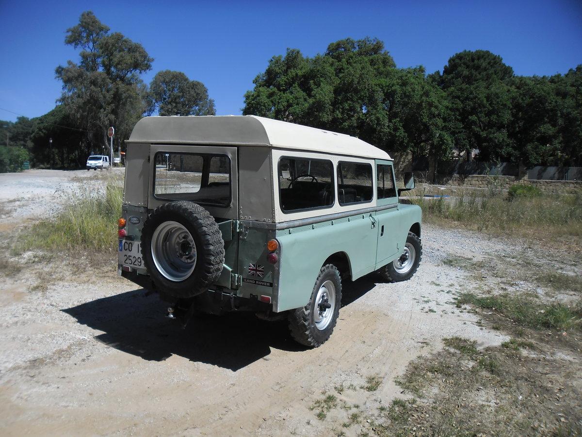 1979 Land Rover Defender /Santana 109 2 Door Long Wheel Base For Sale (picture 6 of 6)