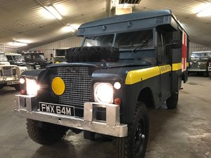 1972 Land Rover ® Series 2a *Ambulance Camper* (FWX) RESERVED For Sale