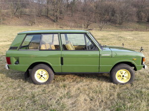 FOR SALE RANGE ROVER CLASSIC 1983 LINCOLN GREEN For Sale