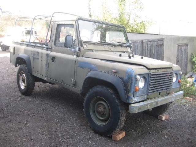 1986 Land Rover 110 Military Winterised Truck Cab For Sale (picture 1 of 6)