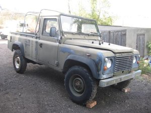 1986 Land Rover 110 Military Winterised Truck Cab For Sale