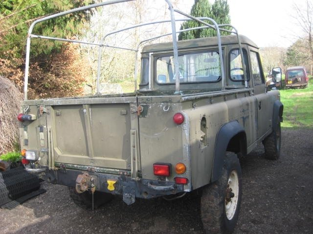 1986 Land Rover 110 Military Winterised Truck Cab For Sale (picture 4 of 6)