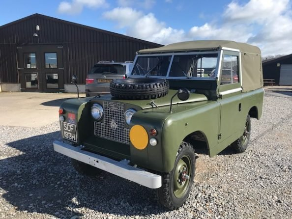 1961 Land Rover® Series 2a (SCF) RESERVED For Sale (picture 1 of 6)