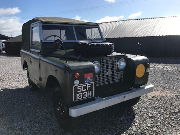 1961 Land Rover® Series 2a (SCF) RESERVED For Sale (picture 2 of 6)