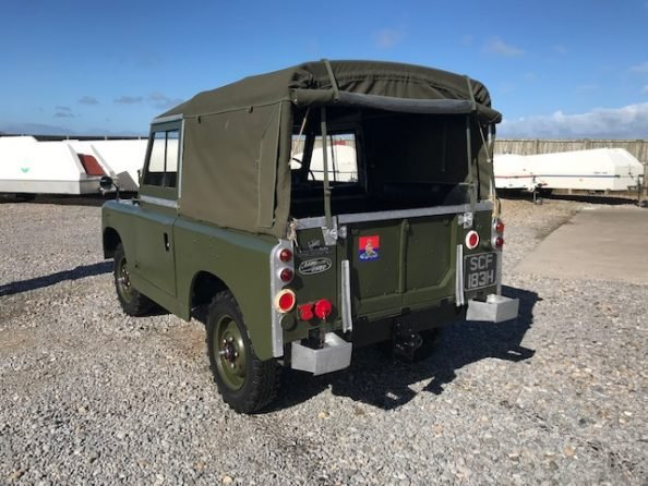 1961 Land Rover® Series 2a (SCF) RESERVED For Sale (picture 3 of 6)