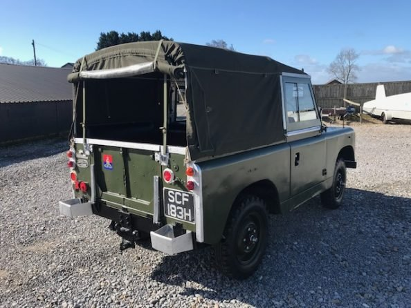 1961 Land Rover® Series 2a (SCF) RESERVED For Sale (picture 4 of 6)