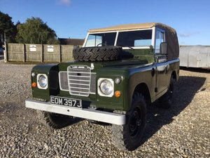 1971 Land Rover® Series 3 *Tax & MOT Exempt Ragtop* (EDM) For Sale