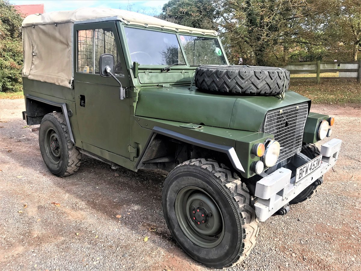 1981 land rover lightweight with galvanised chassis SOLD (picture 1 of 6)