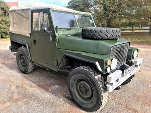 1981 land rover lightweight with galvanised chassis SOLD