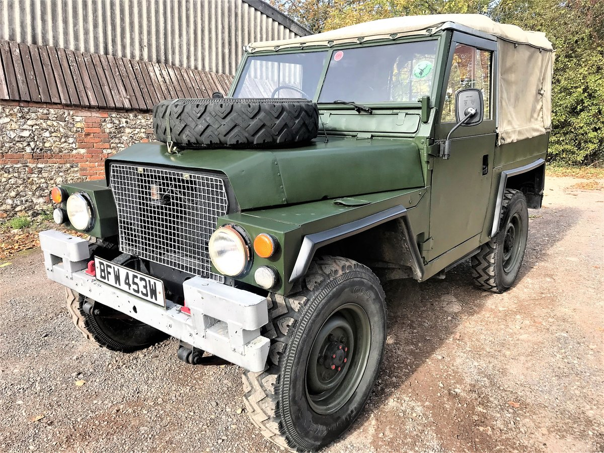1981 land rover lightweight with galvanised chassis SOLD (picture 2 of 6)