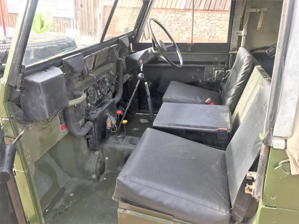 1981 land rover lightweight with galvanised chassis SOLD (picture 3 of 6)