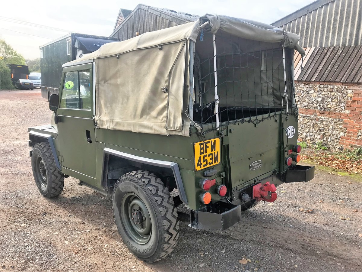 1981 land rover lightweight with galvanised chassis SOLD (picture 4 of 6)