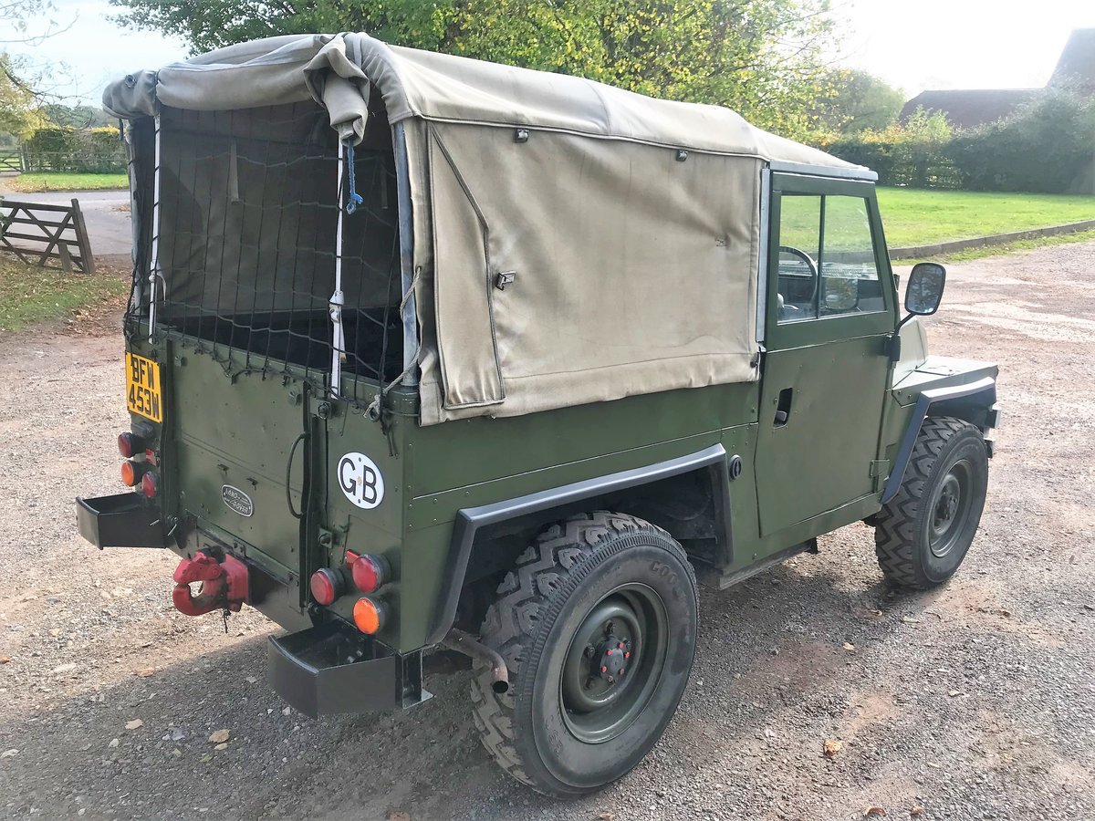 1981 land rover lightweight with galvanised chassis SOLD (picture 5 of 6)