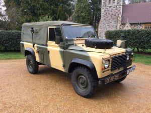 Land Rover Defender 90. 2.5 NA diesel. 1986 C reg Ex MOD. For Sale