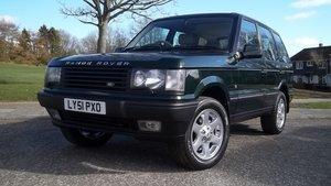 RESTORED 2001(51) Land Rover Range Rover P38 Vogue