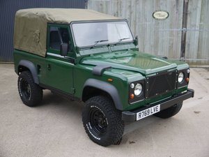 1998 Land Rover Defender 90 Wolf - 4.0L V8 Soft Top! For Sale