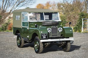"Land Rover Series 1 86"" Soft Top 1955 Nut & Bolt Restoration For Sale"
