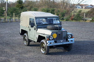 "1984 Land Rover Series 3 88"" Lightweight Military Very Original  For Sale"