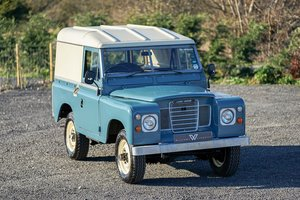 "1984 Land Rover Series 3 88"" Hardtop 63,000 Miles For Sale"