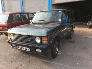 1989 RANGE ROVER CLASSIC VOGUE For Sale