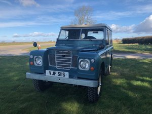1977 Land Rover ® Series 3 *Galvanised Chassis Rebuild*(VJF) For Sale