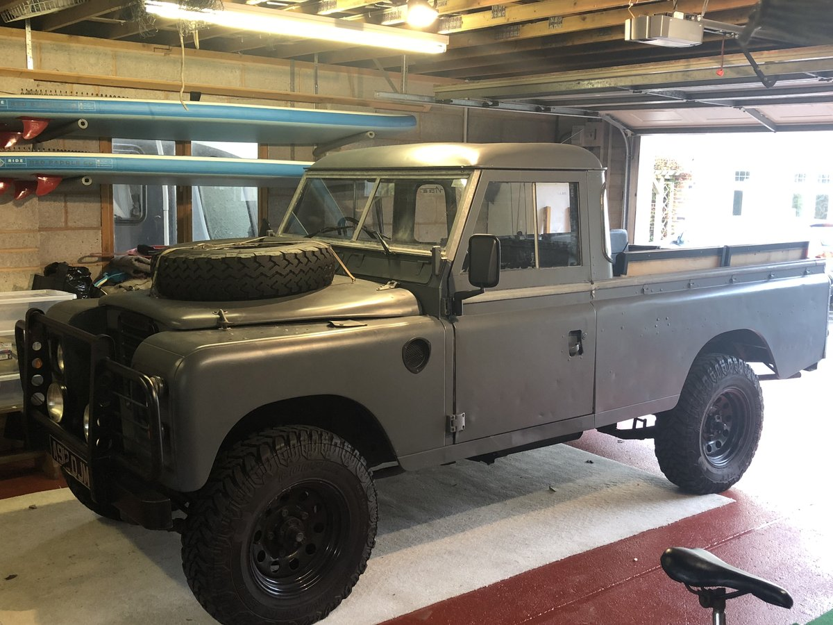 1983 Land Rover Series 3 LWB For Sale (picture 1 of 6)