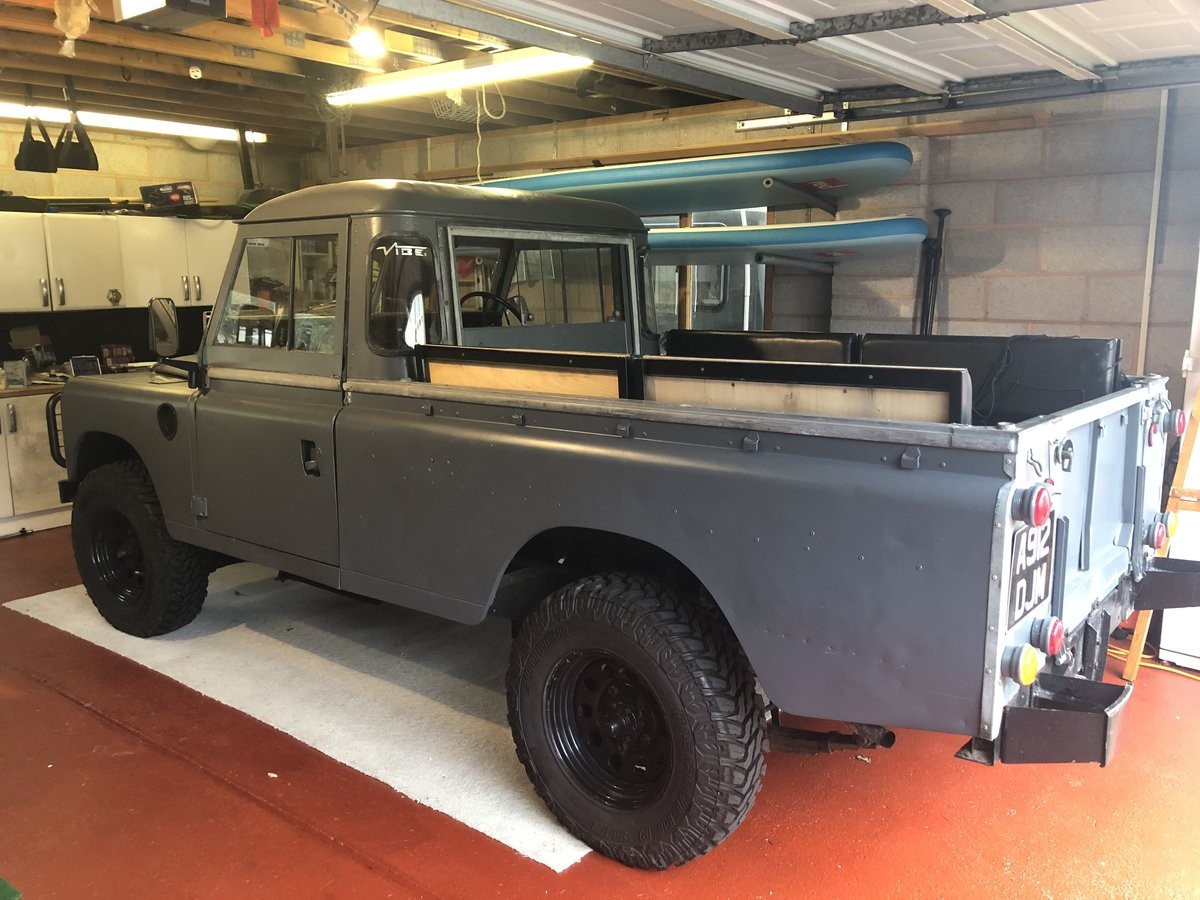 1983 Land Rover Series 3 LWB For Sale (picture 2 of 6)