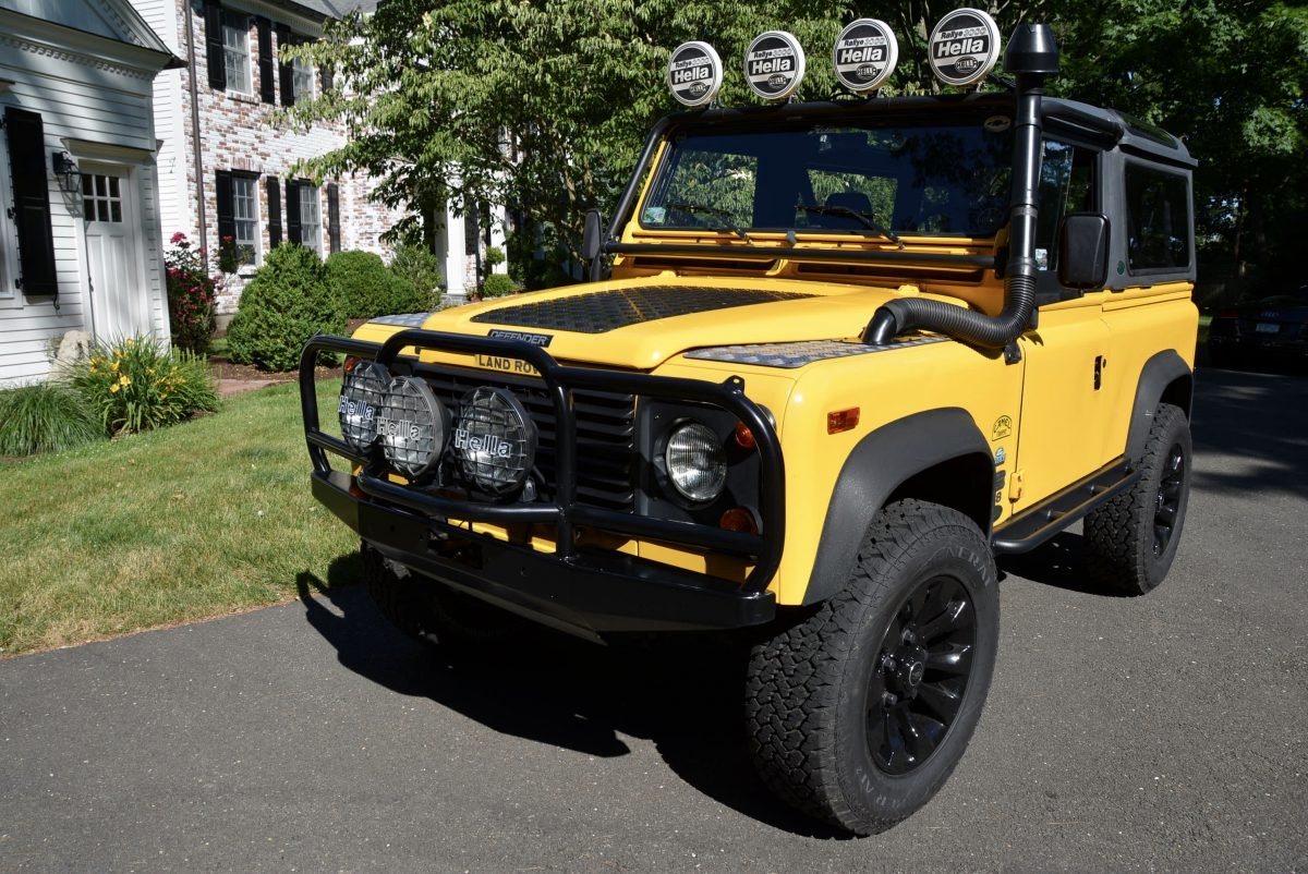 1995 Land Rover NAS Defender 90 Convertible Edition $79.9k  For Sale (picture 1 of 6)