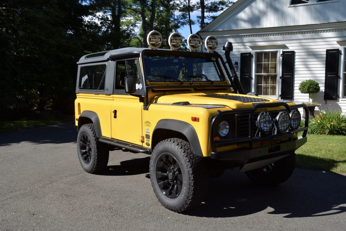 1995 Land Rover NAS Defender 90 Convertible Edition $79.9k  For Sale (picture 2 of 6)