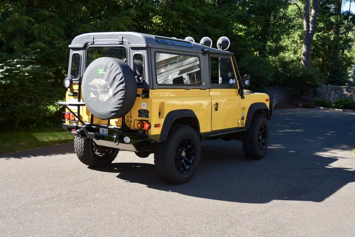 1995 Land Rover NAS Defender 90 Convertible Edition $79.9k  For Sale (picture 3 of 6)