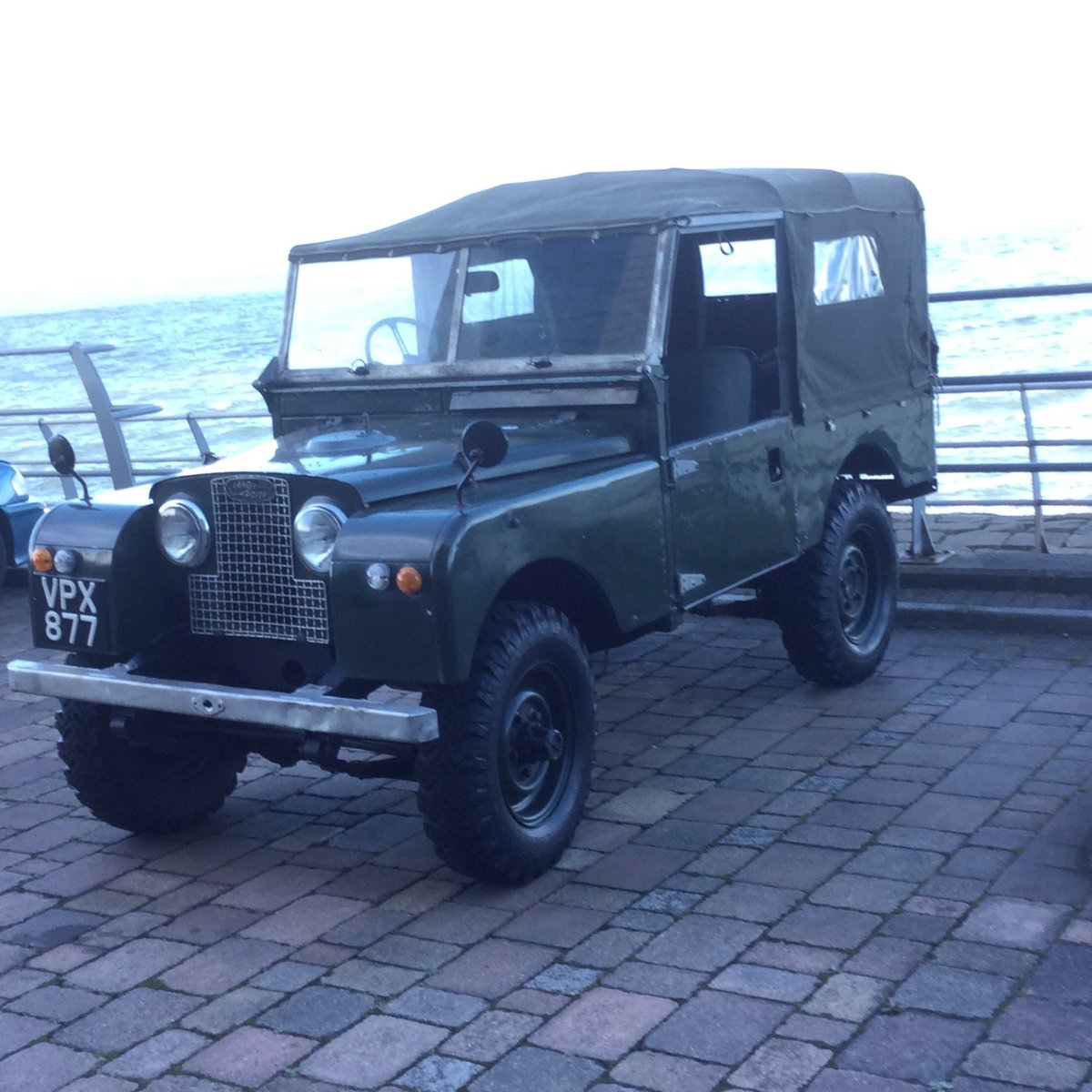 """1956 Series 1 Landrover 88"""" For Sale (picture 1 of 6)"""