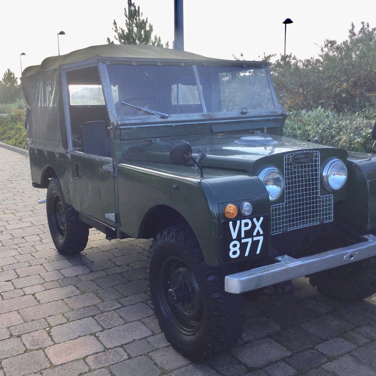 """1956 Series 1 Landrover 88"""" For Sale (picture 2 of 6)"""