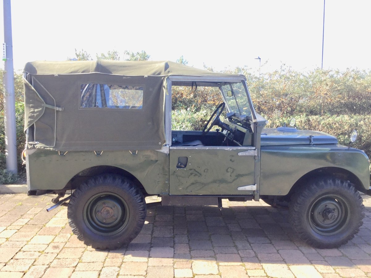 """1956 Series 1 Landrover 88"""" For Sale (picture 3 of 6)"""