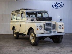 1979 Land Rover Series III 109 3.5 V8 at ACA 13th April  For Sale