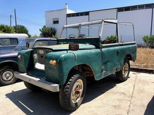 1968 Land Rover RHD Soft Top Restoration Project For Sale