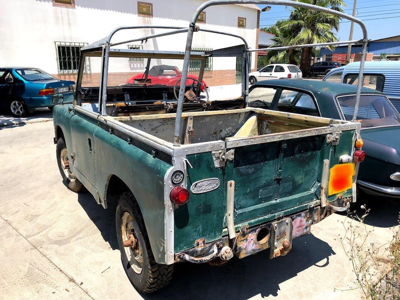 1968 Land Rover RHD Soft Top Restoration Project For Sale (picture 2 of 6)