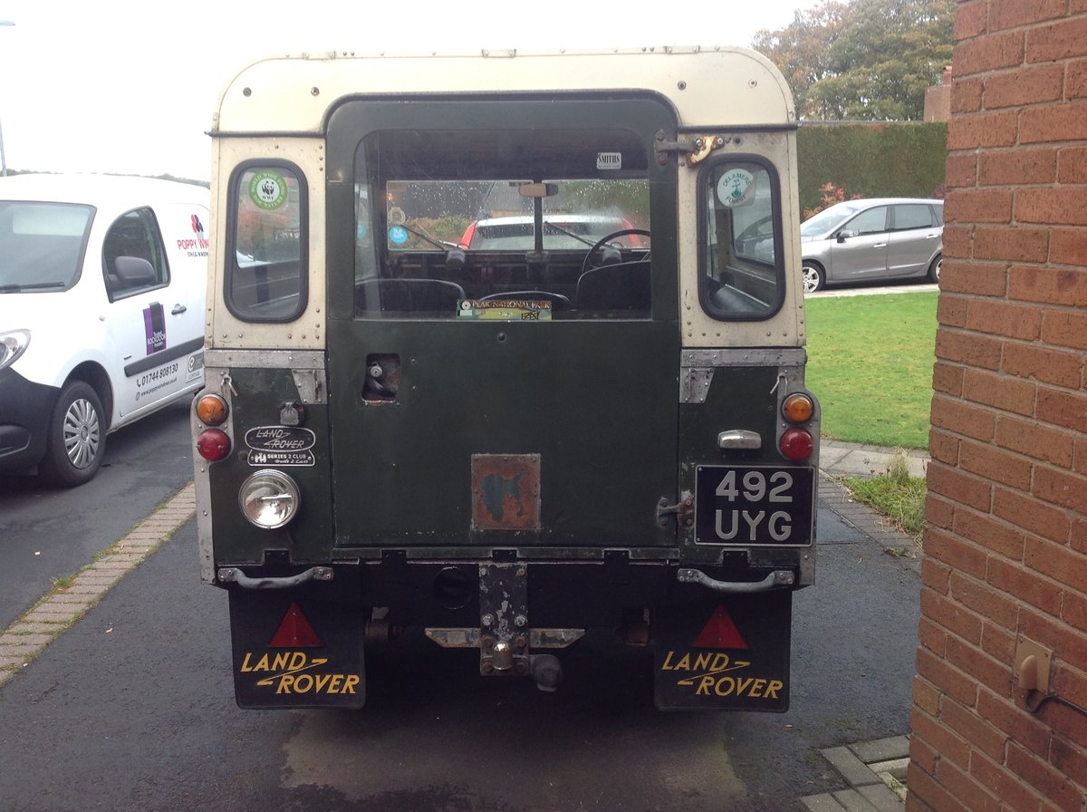 1961 Series 2 Landrover For Sale (picture 1 of 6)
