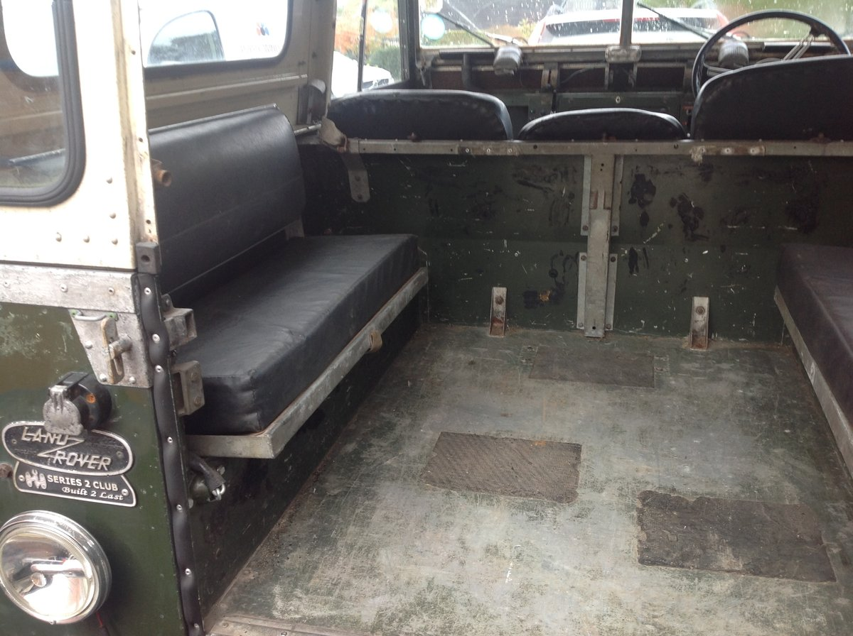 1961 Series 2 Landrover For Sale (picture 2 of 6)