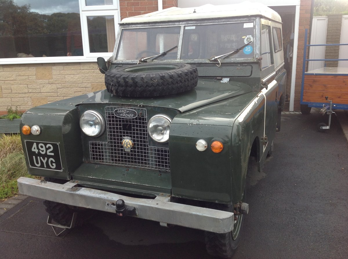 1961 Series 2 Landrover For Sale (picture 5 of 6)